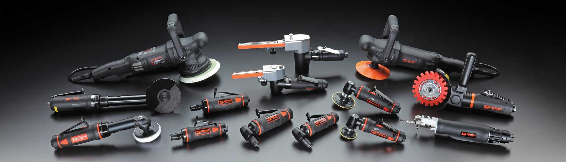 New Nitro-Series Tools From Dynabrade!