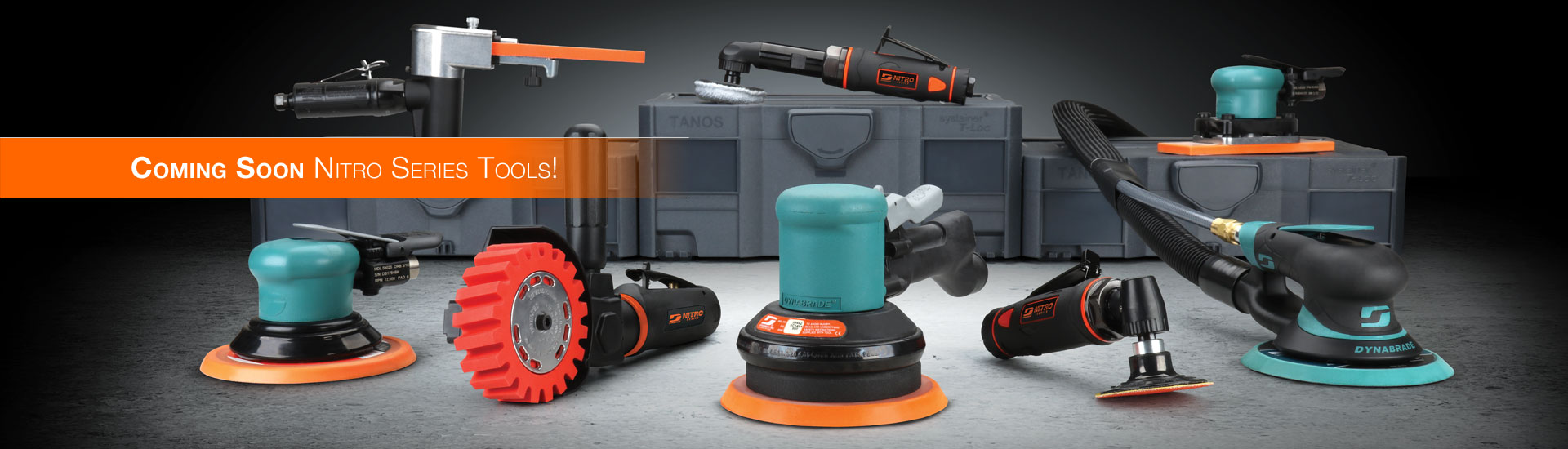 New Nitro-Series Tools From Dynabrade Coming Soon!