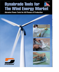 Dynabrade Wind Energy Industry Literature