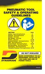 Dynabrade Safety Guidelines Brochure