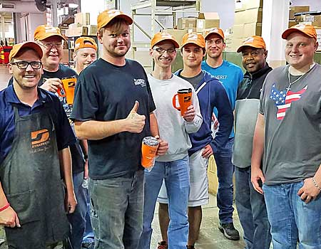 Dynabrade Warehouse Employees