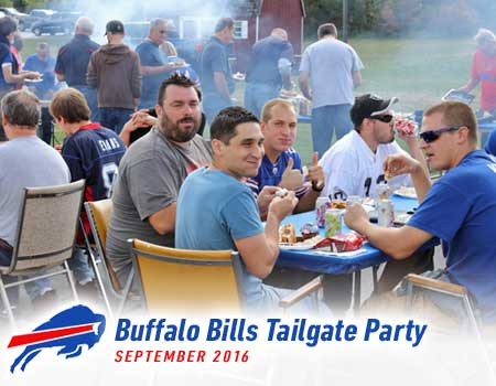 Dynabrade Buffalo Bills Tailgate Party